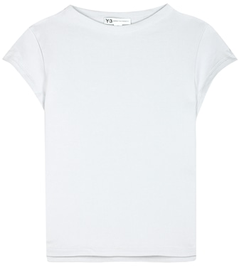 Y-3 - Force cotton T-shirt - mytheresa.com
