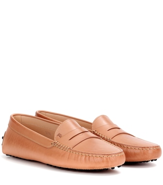 Tod's - Gommino leather loafers - mytheresa.com