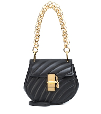 Chloé - Drew Mini Bijou leather shoulder bag - mytheresa.com