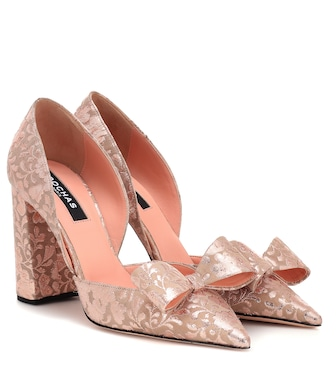 Rochas - Pumps aus Brokat - mytheresa.com
