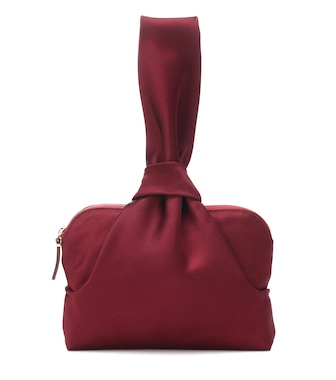 The Row - Evening satin clutch - mytheresa.com