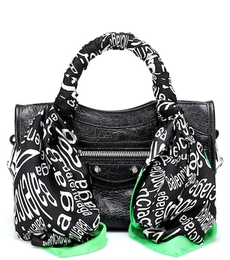 Balenciaga - Classic City Mini leather tote - mytheresa.com