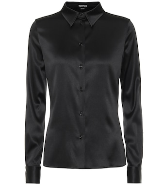 Tom Ford - Stretch-silk satin shirt - mytheresa.com