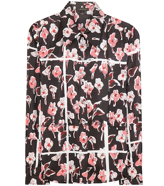 Marc Jacobs - Printed silk blouse - mytheresa.com