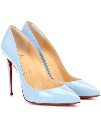 Christian Louboutin - Pigalle Follies patent leather pumps - mytheresa.com