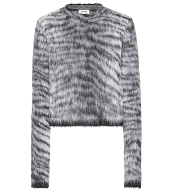 Acne Studios - Striped sweater - mytheresa.com
