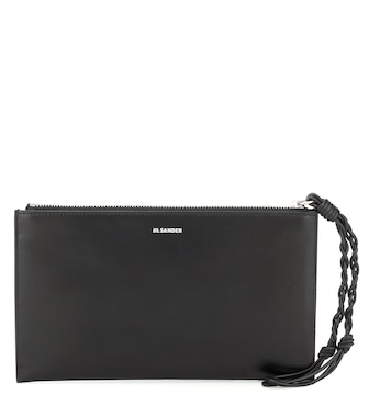 Jil Sander - Tangle leather wallet - mytheresa.com