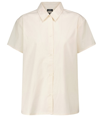 A.P.C. - Marina cotton shirt - mytheresa.com