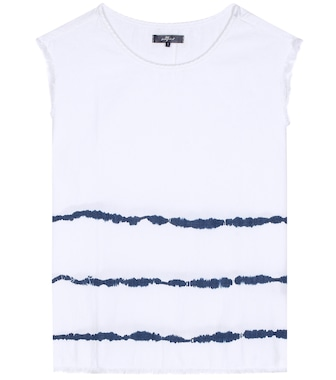 7 For All Mankind - Surfer Tie Dye cotton top - mytheresa.com