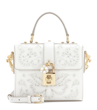 Dolce & Gabbana - Dolce Soft leather shoulder bag - mytheresa.com