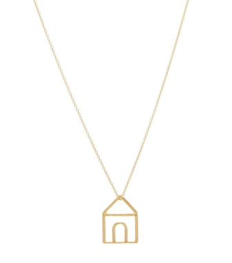 Aliita - Casita Pura 9kt gold necklace - mytheresa.com