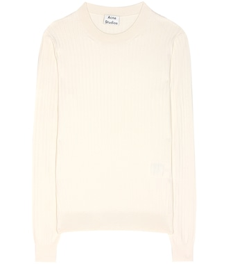 Acne Studios - Ives cotton-blend sweater - mytheresa.com