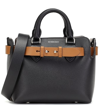 Burberry - The Belt Mini leather tote - mytheresa.com