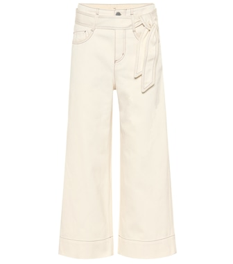 Loro Piana - Lenny high-rise wide-leg cropped jeans - mytheresa.com