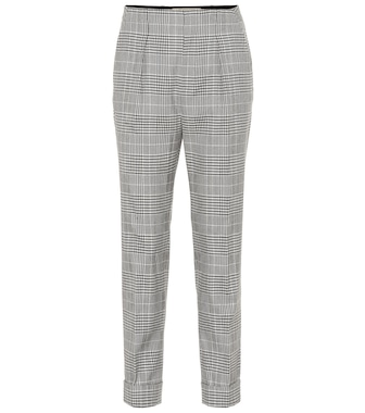 Roland Mouret - Horley checked wool-blend pants - mytheresa.com
