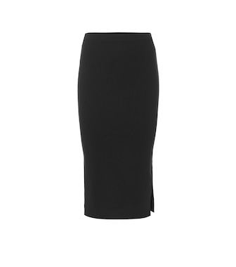 Joseph - Silk-blend knit pencil skirt - mytheresa.com