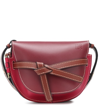 Loewe - Gate Small leather crossbody bag - mytheresa.com