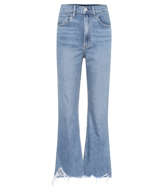 3x1 - W5 Empire high-rise flared jeans - mytheresa.com