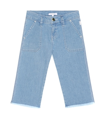 Chloé Kids - Cropped straight jeans - mytheresa.com