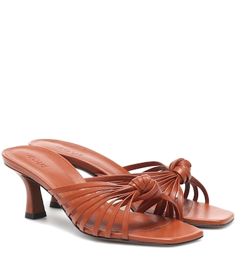 Neous - Lottis leather sandals - mytheresa.com