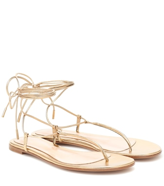 Gianvito Rossi - Gwyneth thong sandals - mytheresa.com