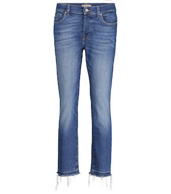 7 For All Mankind - Asher Luxe Vintage mid-rise jeans - mytheresa.com