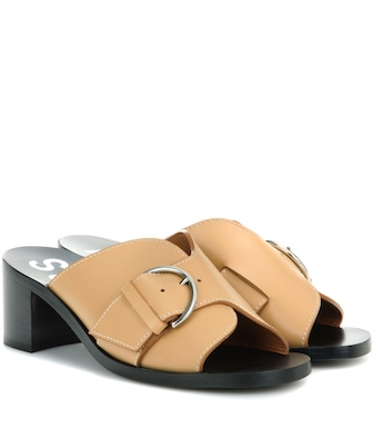 Acne Studios - Vikki leather sandals - mytheresa.com