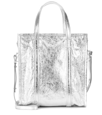 Balenciaga - Bazar S leather shopper - mytheresa.com