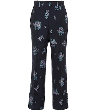 Gucci - Flowers fil coupé pants - mytheresa.com