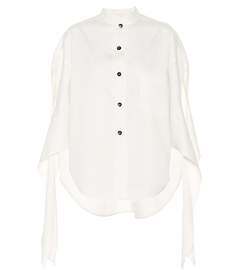 Petar Petrov - Burr cotton and silk twill shirt - mytheresa.com
