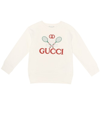 Gucci Kids - Gucci Tennis cotton sweatshirt - mytheresa.com