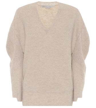 Stella McCartney - Wool and alpaca sweater - mytheresa.com