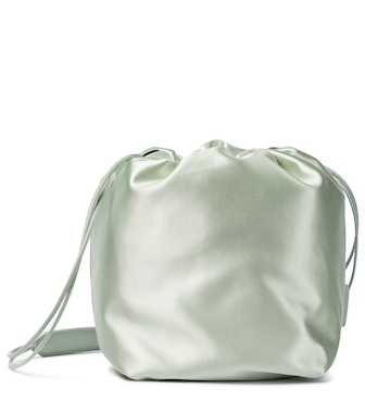 Jil Sander - Small satin bucket bag - mytheresa.com