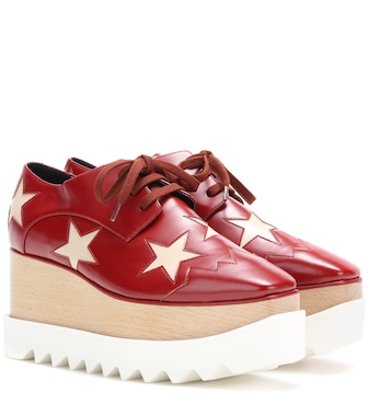 Stella McCartney - Plateau-Brogues Elyse Star - mytheresa.com