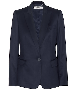Stella McCartney - Iris wool-twill blazer - mytheresa.com
