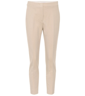 Max Mara - Pegno stretch jersey straight pants - mytheresa.com