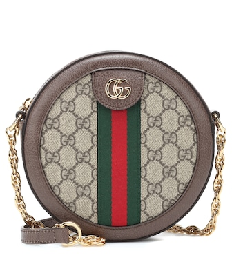 Gucci - Ophidia Mini Round shoulder bag - mytheresa.com