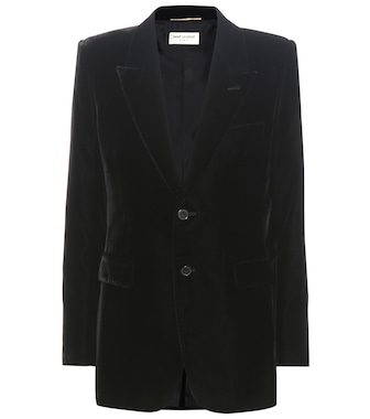 Saint Laurent - Velvet jacket - mytheresa.com