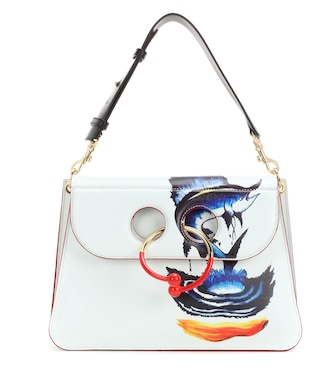 J.W.Anderson - Medium Pierce printed leather shoulder bag - mytheresa.com