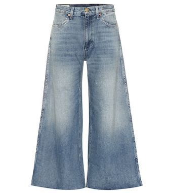 Gucci - Cropped high-rise wide-leg jeans - mytheresa.com