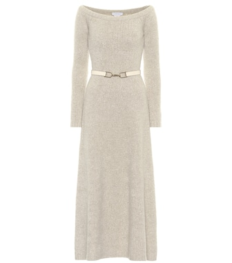 Gabriela Hearst - Gertrude cashmere and silk dress - mytheresa.com