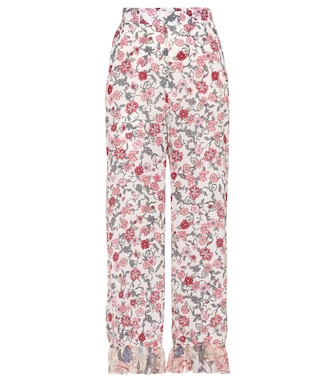 See By Chloé - Printed cropped trousers - mytheresa.com