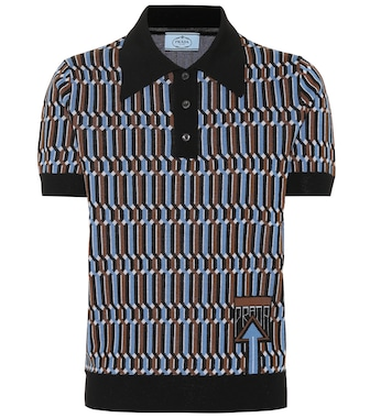 Prada - Wool polo shirt - mytheresa.com