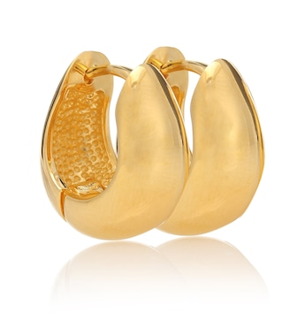 Sophie Buhai - Hinged Hoops 18kt gold-plated earrings - mytheresa.com