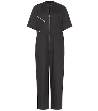 Isabel Marant - Talma cotton jumpsuit - mytheresa.com