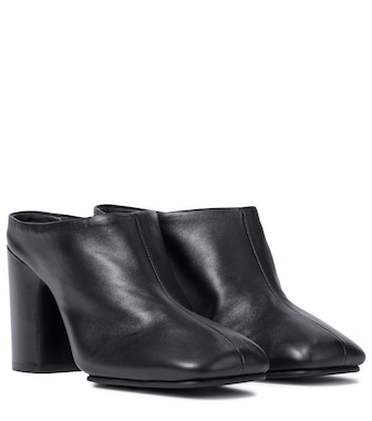 Acne Studios - Leather mules - mytheresa.com