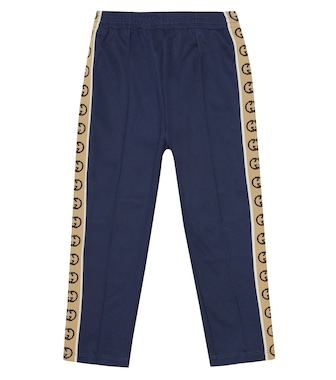 Gucci Kids - GG jersey trackpants - mytheresa.com