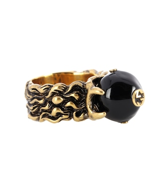 Gucci - Embellished ring - mytheresa.com