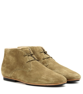 Tod's - Suede desert boots - mytheresa.com