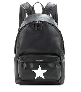 Givenchy - Leather backpack - mytheresa.com